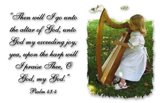 Harps of Praise | Hostetler Woodworks
